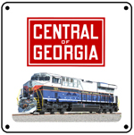 CofG Heritage 6x6 Tin Sign