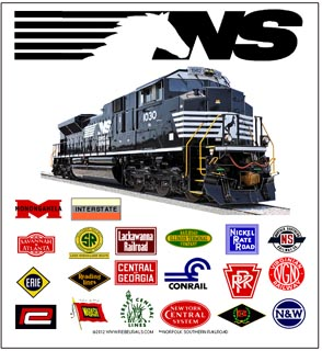 Tin Sign NS Heritage Logos