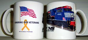 Coffee Mug NS Veterans diesel