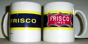 Coffee Mug Frisco Logo