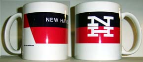 Coffee Mug NH Red/Black Logo Mug