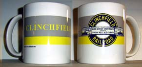 Coffee Mug Clinchfield Logo