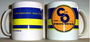 Coffee Mug C&O Logo