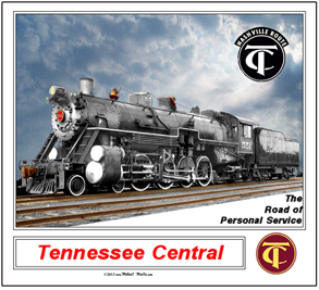 Mouse Pad Tennessee Central 551
