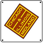 C&IM Logo 6x6 Tin Sign
