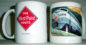 Coffee Mug West Point Route
