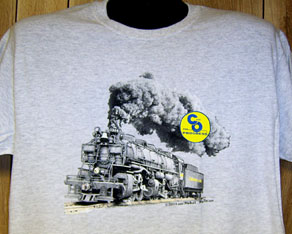 T-Shirt C&O #1309 Steam