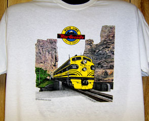 T-shirt Rio Grande at Castle Gate NEW