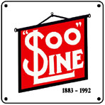 SOO Banner 6x6 Tin Sign