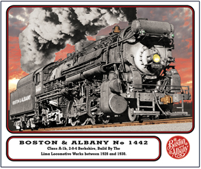 Mouse Pad Boston & Albany 1442