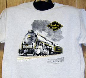T-shirt Reading Steam #2124