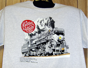 T-shirt Boston & Albany Berkshire