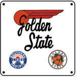 SP Golden State 6x6 Logo
