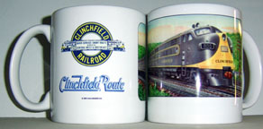 Coffee Mug Clinchfield New F Diesels
