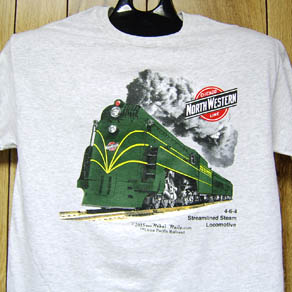 T-Shirt C&NW Streamlined Steam