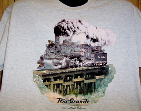 T-Shirt Rio Grande Narrow Gauge