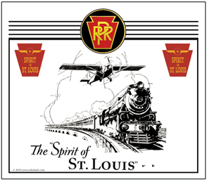 Mouse Pad PRR Spirit of St. Louis