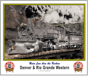 Mouse Pad Rio Grande Narrow Gauge