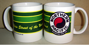 Coffee Mug NP Logo