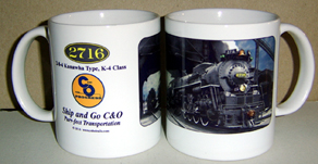 Coffee Mug C&O 2716 Steam