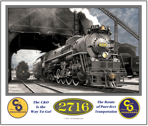 Mouse Pad C&O 2716 Steam