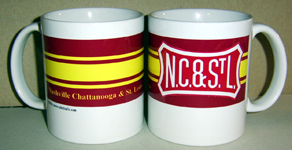 Coffee Mug NC&StL Logo