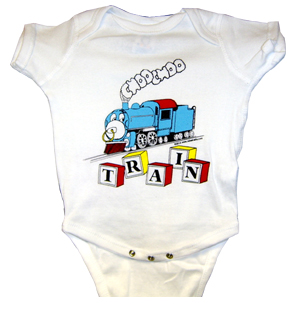 T-shirt Choo Choo Blocks