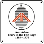Ann Arbor Ferry in Fog Logo
