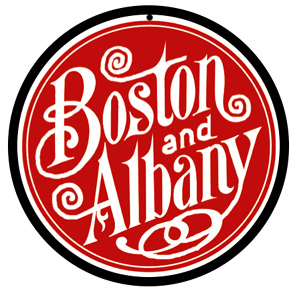 Boston & Albany Logo Round