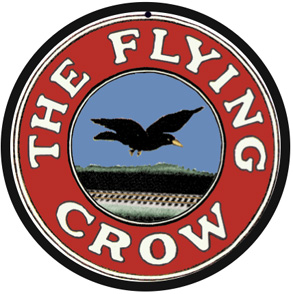 KCS Flying Crow Logo Round