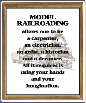 Tin Sign Model Railroading