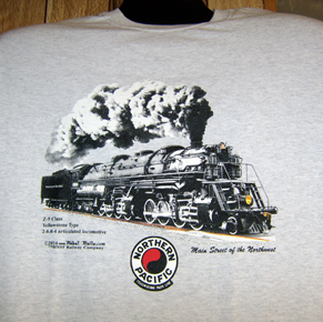 T-shirt NP Z-5 Steam Locomotive
