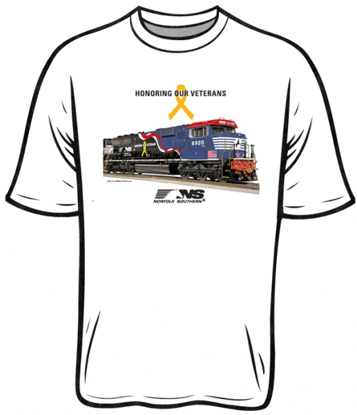 T-Shirt NS Veterans Honor Ash Tee