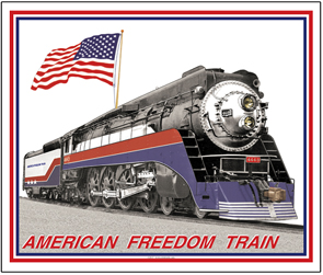 Mouse Pad American Freedom Train