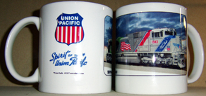 Coffee Mug Spirit of the Union Pacific