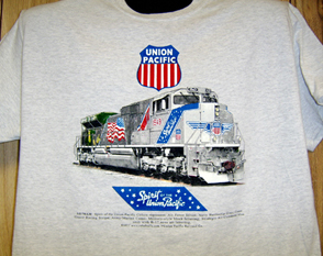 T-shirt Spirit of the Union Pacific