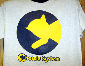 T-Shirt Chessie Broken Plate C&O Design