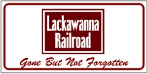 License Plate Lackawanna Logo