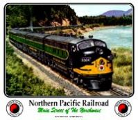 Mouse Pad Northern Pacific