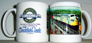 Coffee Mug Clinchfield Catawba River