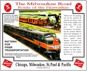 Tin Sign Milwaukee FT Diesel Ad