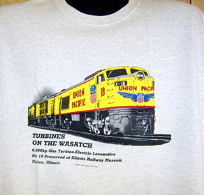 T-shirt Union Pacific Turbine