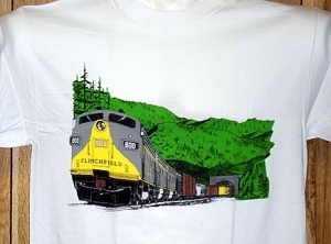 T-Shirt Clinchfield Mountain