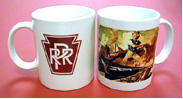 Coffee Mug PRR Uncle Sam
