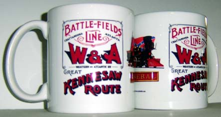War Coffee Mug W&A RR