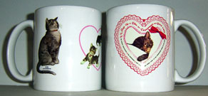 Coffee Mug Chessie & Family Lace