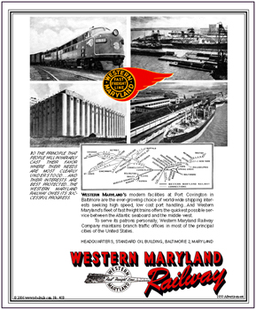 Tin Sign WM Docks 40B