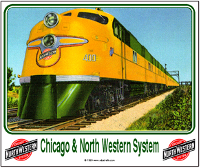 Mouse Pad C&NW E-6 Diesel