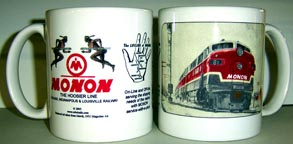 Coffee Mug MONON winter scene