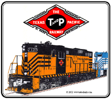 Mouse Pad Texas & Pacific